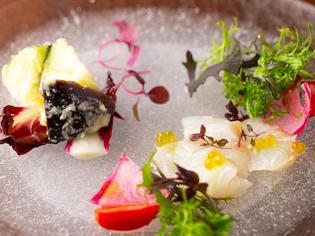 宮崎県直送の天然鮮魚にこだわった『カルパッチョ』