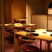 おいしい食事と語らいを満喫したい女性が集う日本料理店