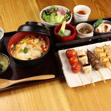 ■梅コース[全5品]鳥幸おすすめ鳥串5本・野菜串2本のコース