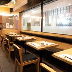 高島屋内にある、落ち着いた天ぷらの店。夫婦で買い物帰りの食事や、美味しい天ぷらが食べたい時に最適です。家族の晴れの日やお祝い事などにもおすすめ。
