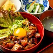 炙り醤油鶏丼御膳