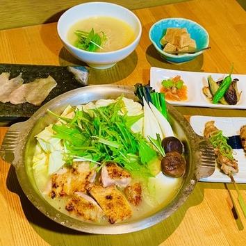 京の水炊きコース