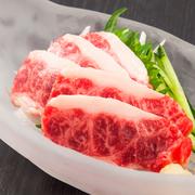 上質な脂はしつこくなく、肉の甘みが溢れます。