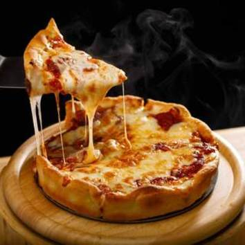 【2.5h制】シカゴピザが選べるスタンダードコース【飲み放題付】