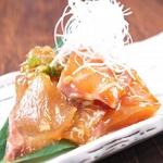 魚の切り身を醤油ダレにじっくり漬けこんだ大分の郷土料理です。