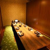 全席掘りごたつ式個室で、プライベートに利用できる居酒屋