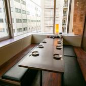 くつろぎと安心がある接待や会食の場を設けられる
