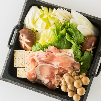 2時間飲み放題<鶏すき焼きコース>3,000円