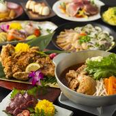 宴席を盛り上げる、バリエーション豊富なコース料理