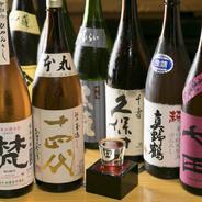 日本全国の美味しい日本酒を厳選して揃えています。常時13種を780円(税込)~とリーズナブルな価格でご用意しております。