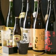 コースには2時間飲み放題が付いている為、お酒好きの方にお薦め。瓶ビールはもちろん、日本酒と焼酎にも是非ご注目下さい。この機会にプレミアムなお酒を飲み比べてみて下さい。