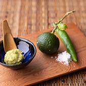 お土産にも人気、手作り柚子胡椒