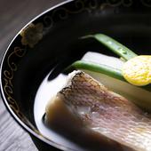 """素材に合わせて変えるこだわりの""""だし""""が決め手。日本料理の要たる自慢の『椀』"""