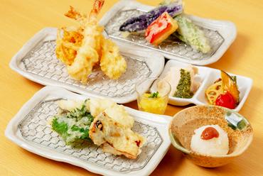 季節の旬の素材と創作の味をラインナップした『鱧・鯖西京漬け夏野菜コース』