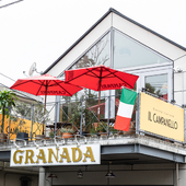 自由が丘にたたずむイタリア料理店