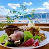 無農薬野菜&ジビエとコーヒーを楽しめる海の見える下関のカフェ