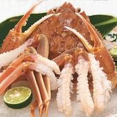 日本海の海の幸 松葉ガニ