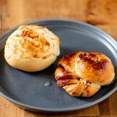 毎朝焼き上げる香ばしさもたまらない『自家製パン』