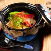 トロっとした食感が癖になる『呉豆腐と生麩の揚げだし』