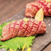 人気メニュー 阿波牛の炙り寿司