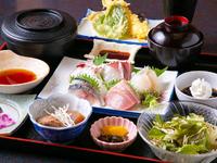 贅沢な鮮魚をお得に味わえる『仲々御膳』