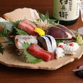 新鮮で旬な海鮮を堪能『造り盛合せ』