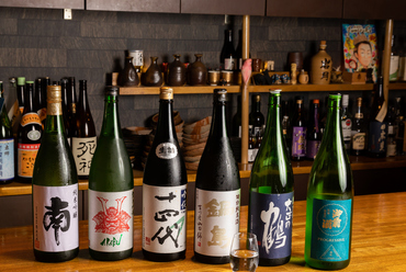 店主セレクト、時期ごとの『日本酒』