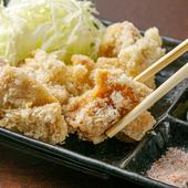 鶏肉の味わいをじっくり堪能できる『オリーブ地鶏の唐揚げ』