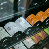 フランスを中心に、赤・白・シャンパンを合わせて約600種類がそろう『世界各国のワイン』