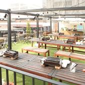 リゾート空間で楽しむ、国産黒毛和牛BBQと世界のビール
