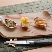 イタリアの伝統の味を堪能。四季折々の食材で織りなす『季節変わりの前菜』