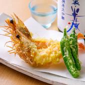 世界の一流シェフが絶賛するエビの味を最大限に味わえる『天使の海老の天ぷら』