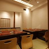 新御茶ノ水駅から30秒。完全個室2部屋、日本酒常時50種以上