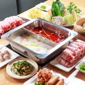 火鍋だけでなくいろいろな料理を楽しめる『和みコース』