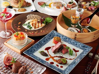 お箸でも楽しめるフランス料理『シェフおまかせディナーコース』