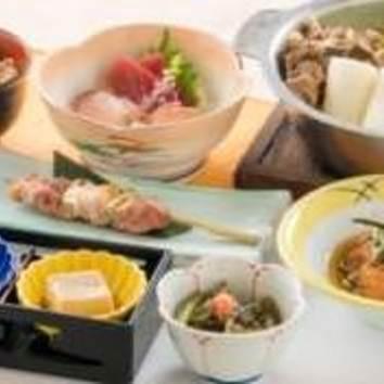 8【比内地鶏濃厚スープのきりたんぽ鍋付】こまちコース《全8品》