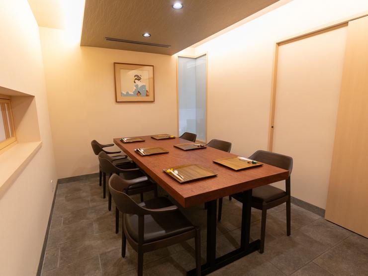 プライベートな個室