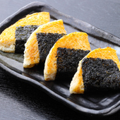 とろっ&ふわぁ~の食感がクセになる『山芋磯辺焼き』