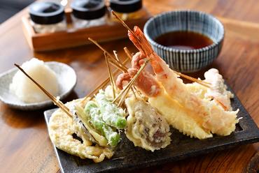 串天ぷら10本盛り