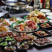 鴨の燻製、釜飯・ぎんじの焼鳥を堪能したい、お客様にはこちらのコースがおすすめ
