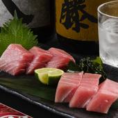 団長が京都の中央卸売市場で仕入れる『本マグロの造り』