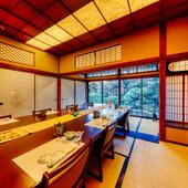 接待などの会食に、最上級のおもてなしができる日本料理店