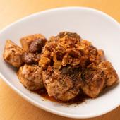 お酒のアテにも、ご飯にも合う、創作鶏麻婆豆腐・夜バージョン
