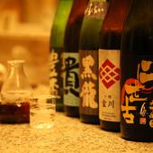 北海道産の新鮮で良質な食材を使った料理を堪能できます