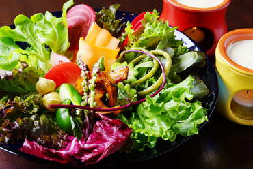 ナチュラ名物 農園野菜のバーニャカウダ