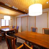 プライベート感あふれる個室は、特別な日の食事にオススメ