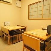 和食を気楽に楽しめるお店として旬の食材をつかった料理をご用意