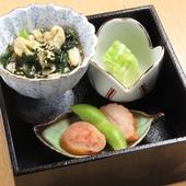 本格的な和食をお気軽に。旬の食材をご用意しております