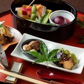 京野菜などを使用する『八寸もの』
