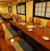 6名から最大40名ご利用可能な完全個室を完備。